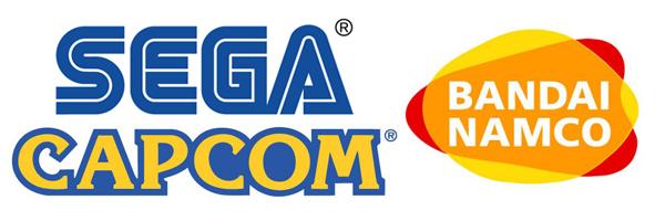 Capcom, Namco Bandai y Sega