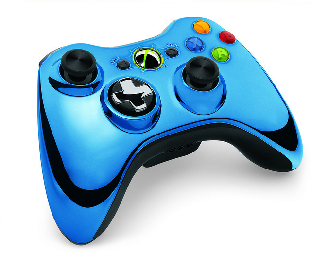 Xbox 360 Chrome Wireless Controllers