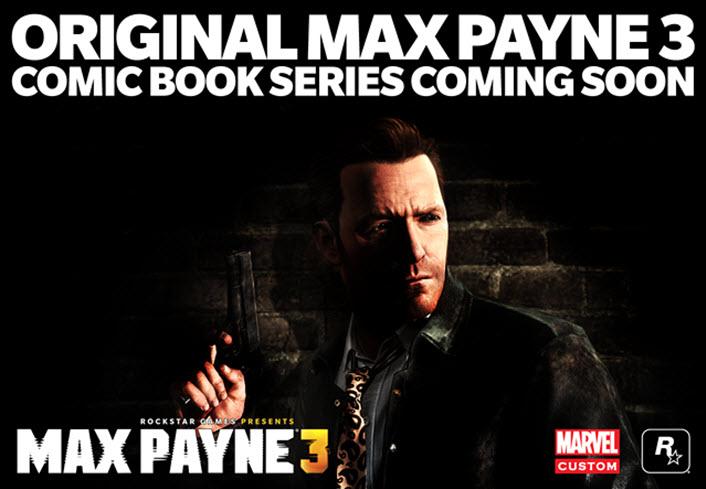 Max Payne 3 cómic