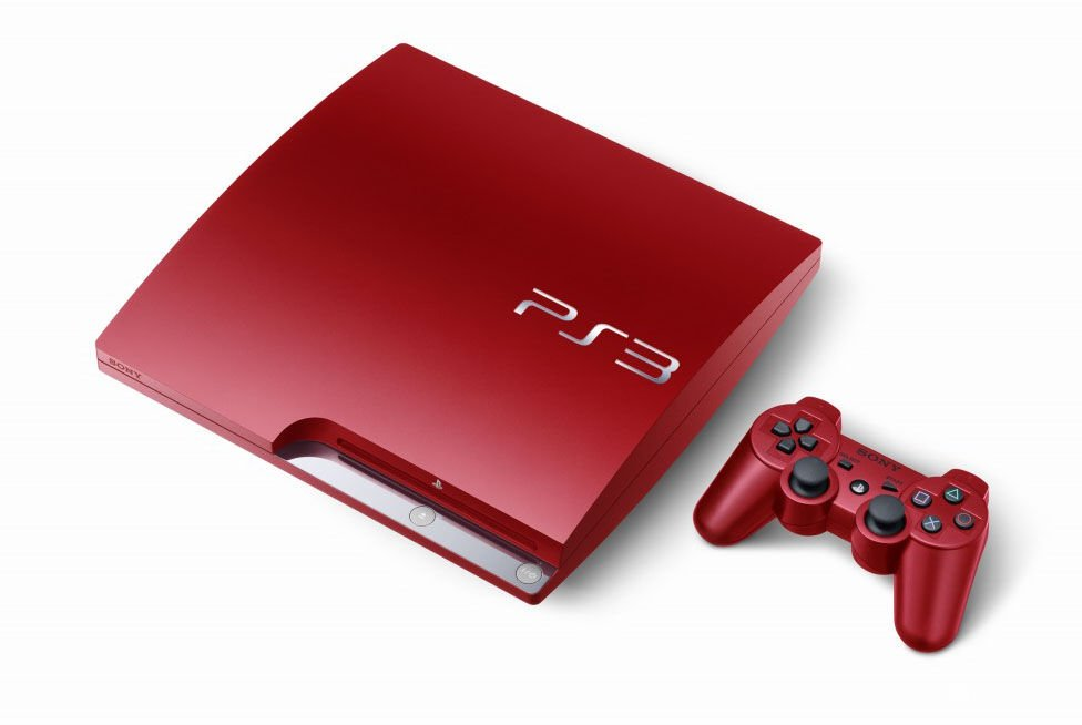PS3 rojo escarlata