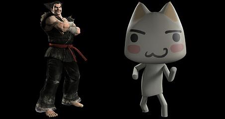 Heihachi y Toro