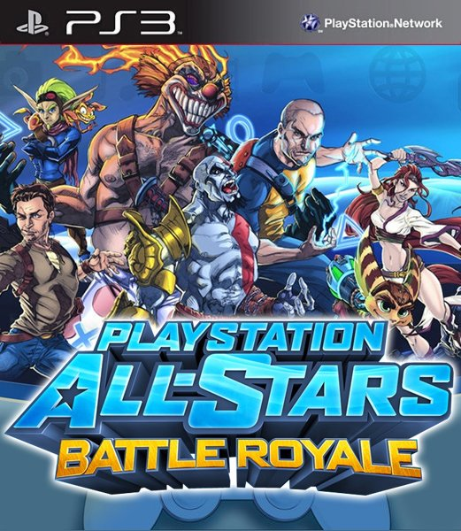 Play Station All Stars Battle Royale