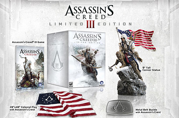 Assassins Creed 3 North America Edition