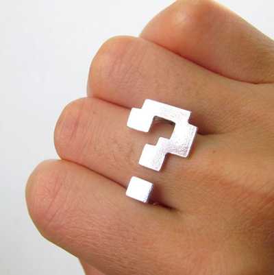 Anillo Super Mario Bros