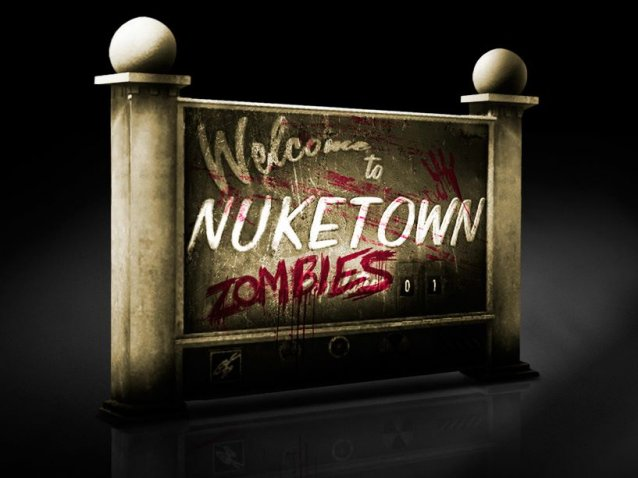 CoD:Black Ops 2 Nuketown Zombis