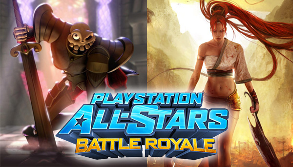 Nariko Fortesque Playstation All-Stars Battle