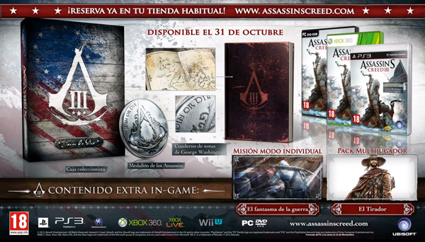 Edición Join Or Die de Assassin's Creed III