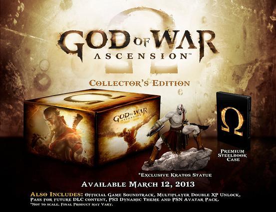 Edición especial God of War Ascension