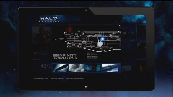 Halo 4 - SmartGlass