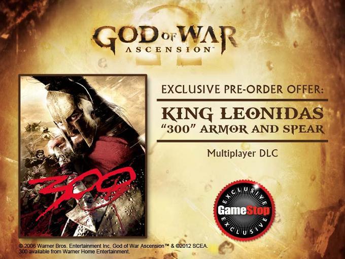 Leonidas God of War: Ascension