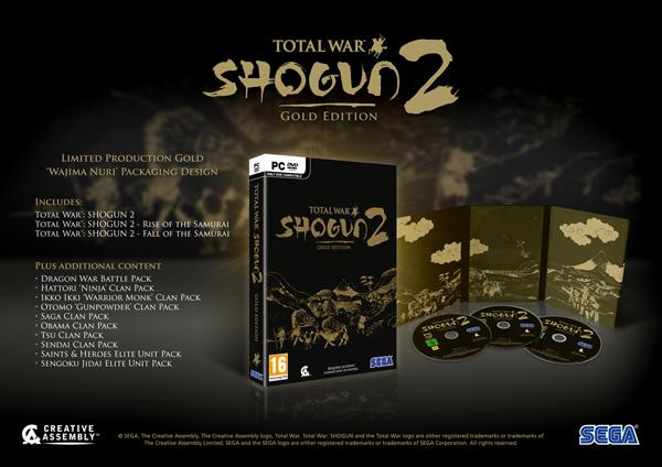 Total War Shogun 2: Gold Edition
