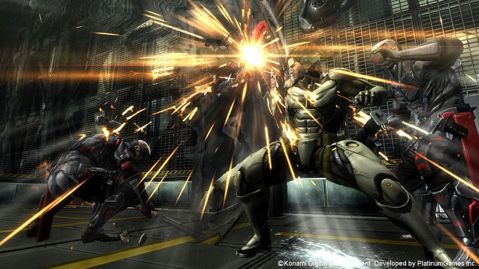 Metal Gear Rising: Revengeance Jetstream