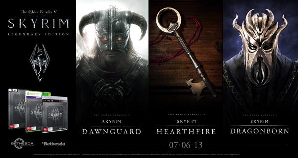 Edición legendaria Skyrim