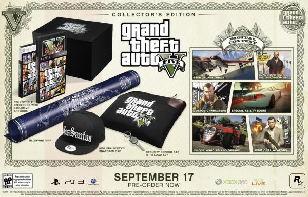 Grand Theft Auto V ediciones especiales