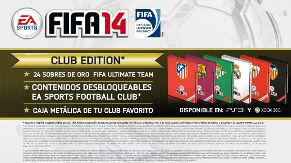 Club Edition de FIFA 14