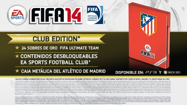 Club Edition de EA SPORTS FIFA 14