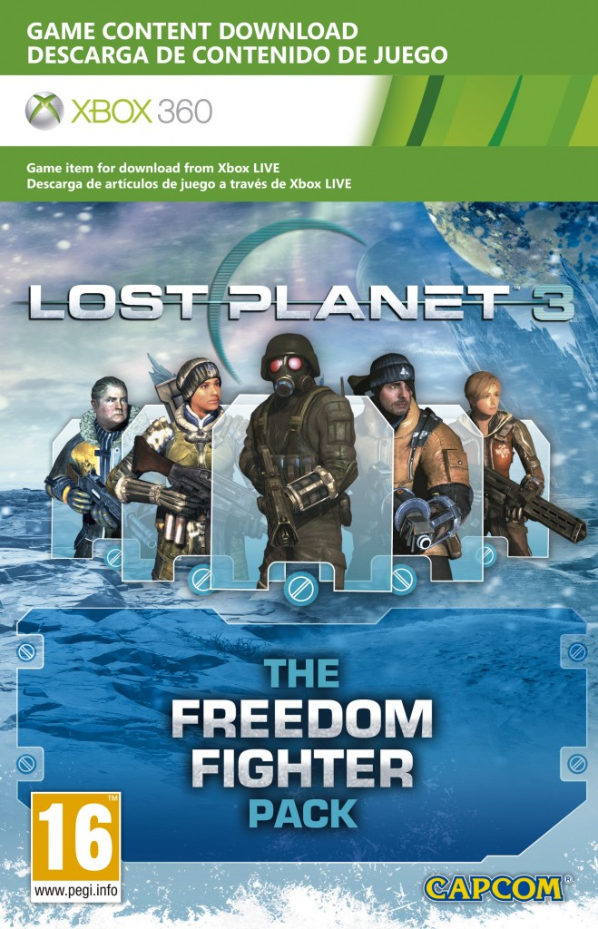 Lost Planet 3: Freedom Fighter