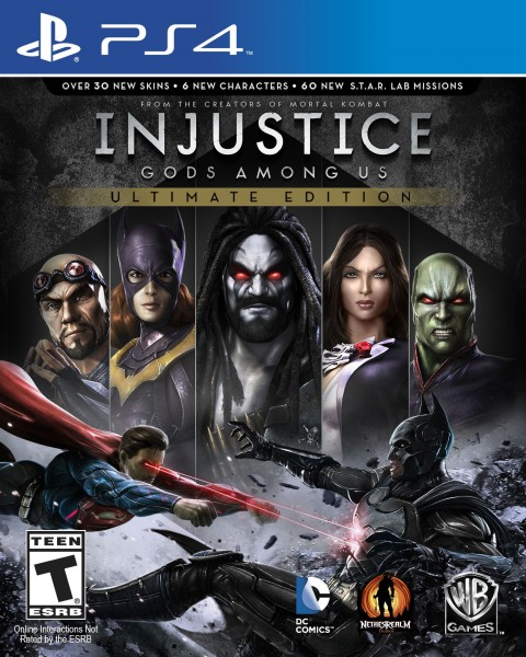 Confirmada la Injustice: Gods Among Us Ultimate Edition