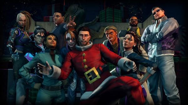 Saints Row IV Navidad