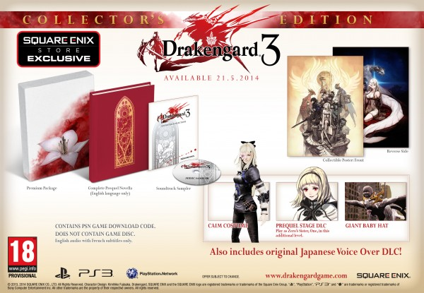 Edición coleccionista Drakengard 3