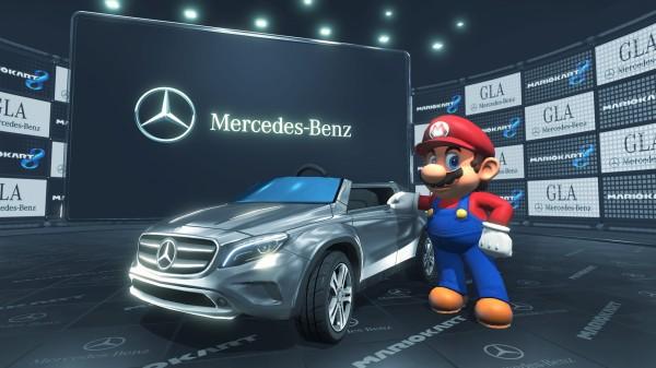 Mario Kart 8 Mercedes