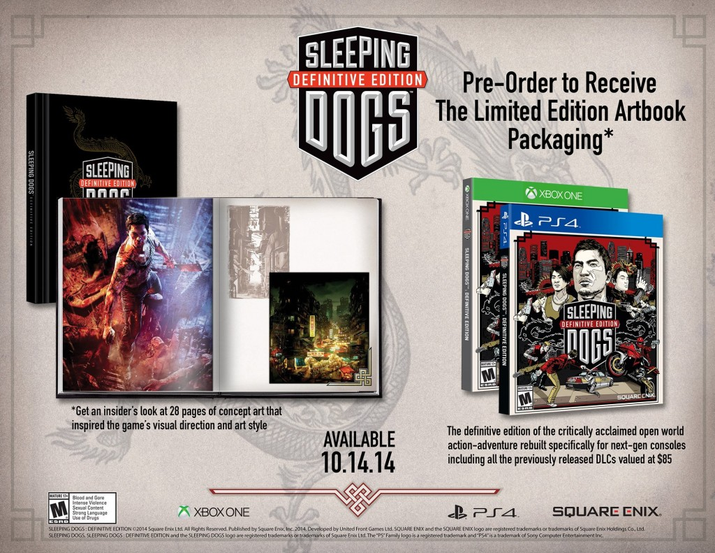 Sleeping Dogs Definitive Edition Sale Eu Psn