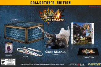 Monster Hunter 4 Ultimate Collector's Edition