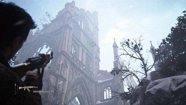 Esta imagen podría parecer sacada de un Max Payne pero no, es Uncharted