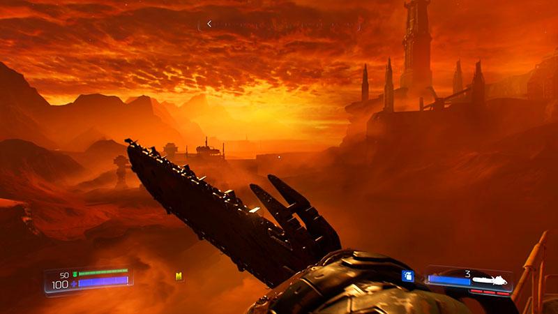 Marte, qué lugar… ¿en cuántos planetas puedes matar demonios con una motosierra?