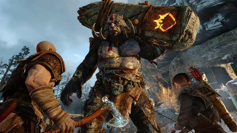 godofwaranewbeggining god of war 4 sony juegos ps4 borntoplay e32016