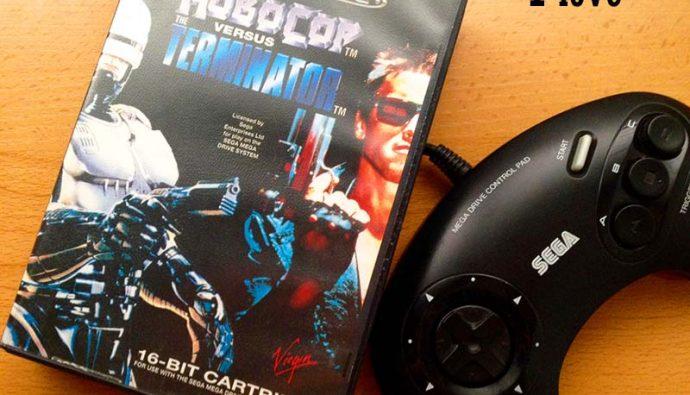 Robocop, terminator, videojuegos violentos, Virgin games, Robocop vs Terminator, violencia, los videojuegos más violentos, mega drive, sega, borntoplay