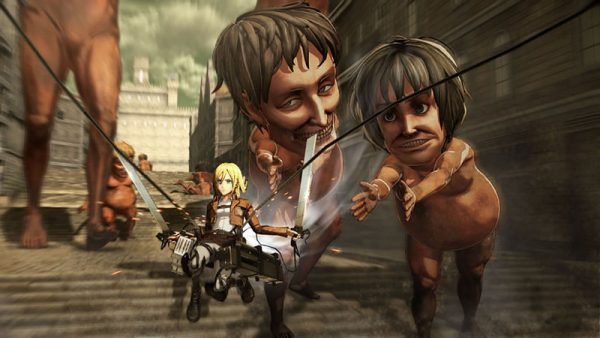 AOT Wings of Freedom, analisis, review, attack on titan analisis Shingeki no Kyojin omega force games videojuegos musou