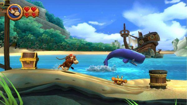 Donkey Kong Country Returns Wii juegos nintendo plataformas borntoplay