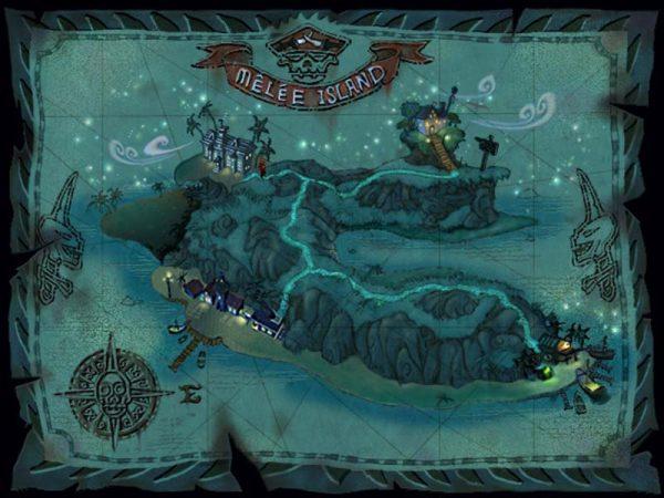 Melee island monkey island imagenes aventuras borntoplay