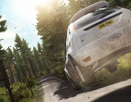 Ford Focus Finland Jump dirt rally imagenes dirt rally bso dirt rally ost videojuegos de rally ps4 juegos de coches borntoplay