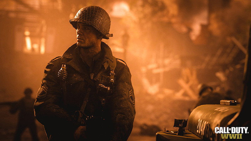 Call of Duty WWII nuevo cod activision juegos 2 guerra mundial videojuegos belicos
