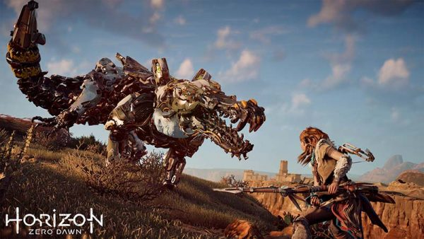 analisis horizon zero dawn, review en español horizon zero dawn criaturas guerrilla games ps4 sony