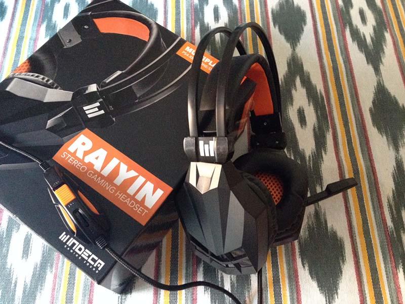 raiyin, cascos indeca, gaming sound, cascos multiplataforma, switch, ps4 xbox one, pc